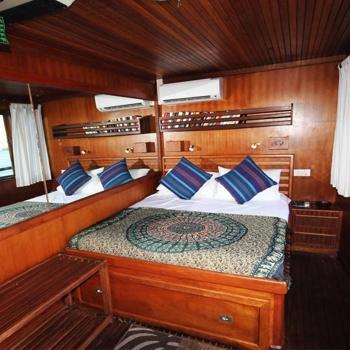 Maldives Charter Dhoni Stella Cabin