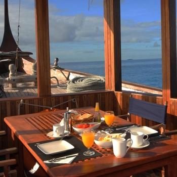 Maldives Charter Dhoni Stella Dining